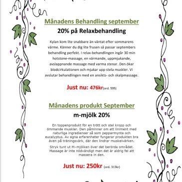 September-erbjudande