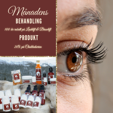 Månadens behandling & produkt december