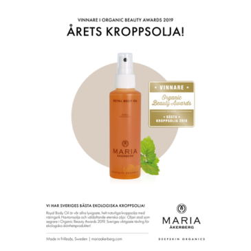 Månadens produkt – Body Oil Royal och Relaxing
